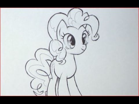 Disegnare pinki pie di my little pony youtube - Pony da colorare in immagini ...