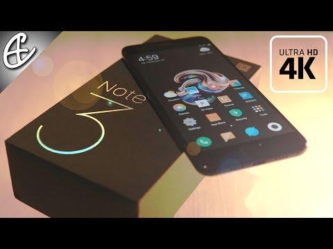 Xiaomi Mi Note 3 - Unboxing & Benchmarks (in 4K Cinematic 21:9)