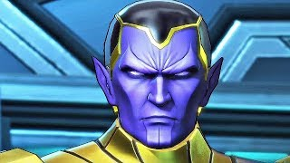 Meeting Thane, Son of Thanos (Marvel Ultimate Alliance 3)