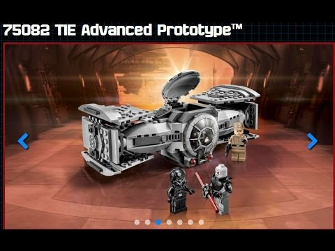 LEGO Star Wars - LEGO Star Wars 75082 - The Inquisitor - TIE ...