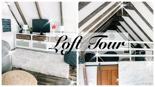INSIDE MY SHE SHED: Loft - TINY HOUSE TOUR