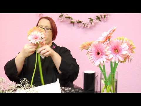 Wedding Decorations : How to Create Your Own Wedding Bouquet - YouTube