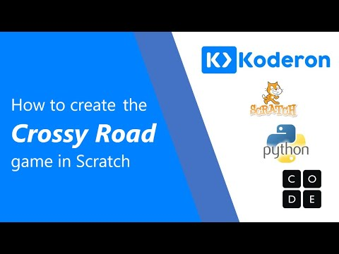 Coding for kids – How to create the Crossy Road game in Scratch