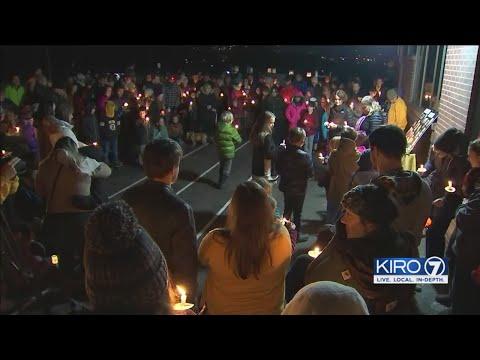 VIDEO: Vigil Held For Beloved Principal Killed In Bellingham