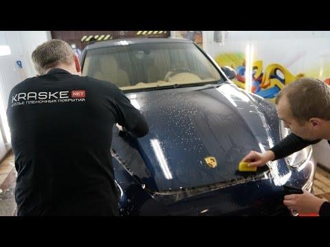 Porsche Cayenne - Оклейка антигравийной пленкой, полировка кузова