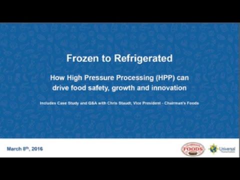 On Demand Webinar: Frozen to Refrigerated
