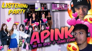 "FIRST TIME REACTING TO APINK (에이핑크) | ""I'm so sick (1도 없어)"",…"