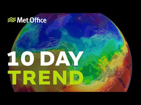 10 Day Trend - A mild start, but is winter definitely over?
