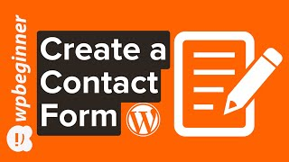 How To Create A Contact Form In Wordpress  Step By Step