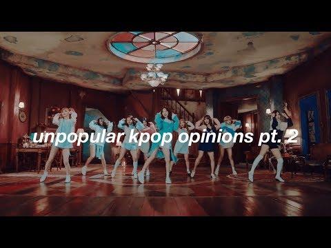 unpopular kpop opinions pt.2 (MORE tea)
