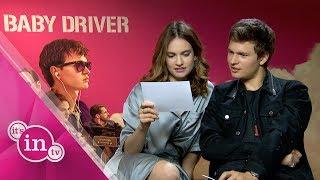 """""""Baby Driver"""" Elgort einmal zur Fahrprüfung, bitte!"""