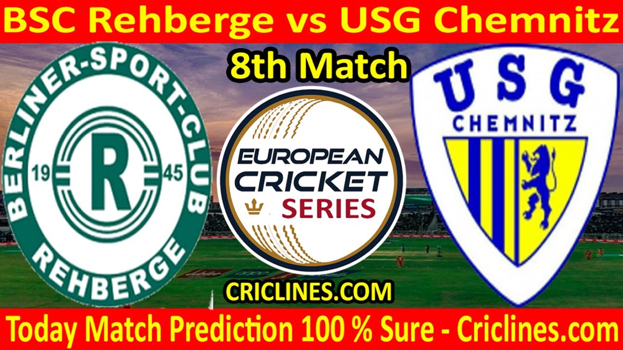 Today Match Prediction-BSC Rehberge vs USG Chemnitz-ECS T10-8th Match