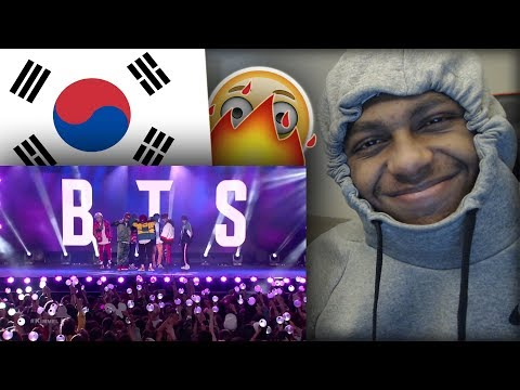 FIRST REACTION TO BTS (방탄소년단) LIVE PERFORMANCES ft. 'MIC Drop (Steve Aoki Remix)' & 'IDOL'