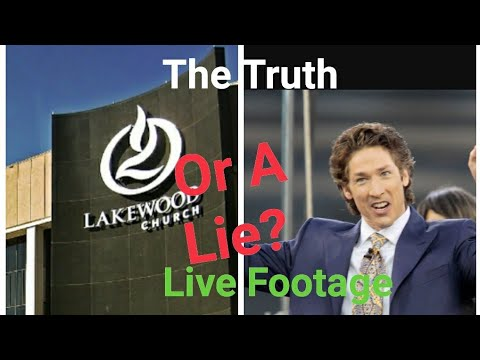 Did Joel Osteen Lie about Lakewood being flooded