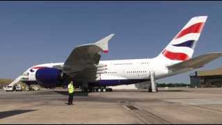 British Airways -- Take a tour of our A380 (short version)
