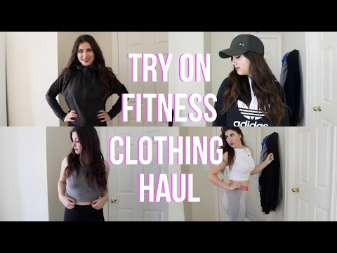 Try On Fitness Clothing Haul