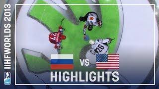 Russia - USA | Highlights | #IIHFWorlds 2013
