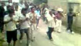 Apertura de la fiesta a San Miguel Arcangel en San Miguel Tecuiciapan Gro.