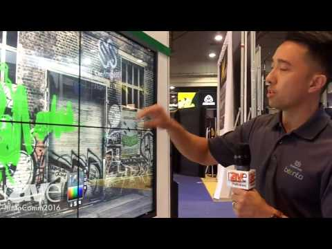 InfoComm 2016: Baanto Shows New Modular Multi-Touch Video Wall Solution