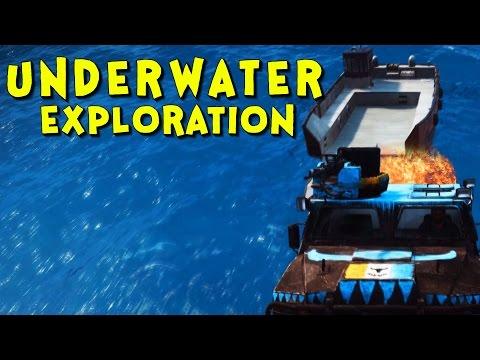 UNDERWATER EXPLORATION! | Just Cause 3