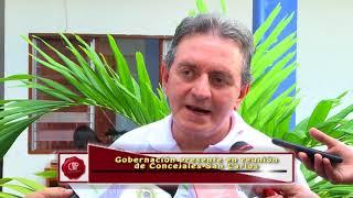 Gerente de municipios presente en reunion de Concejales en San Carlos