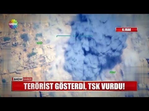 Terörist Gösterdi, TSK Vurdu!