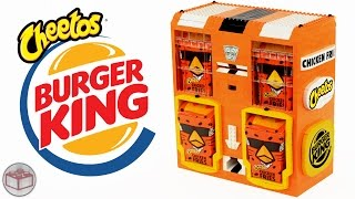 ليغو برغر كينغ شيتوس الدجاج المقلية آلة