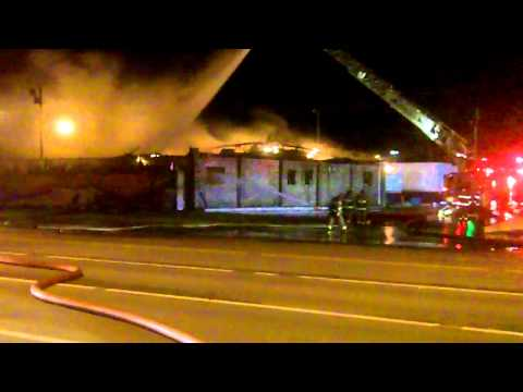 Charlie's Steak House Fire - Oak Grove, KY