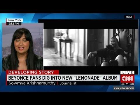 """Beyonce's New """"Lemonade"""" Album"""