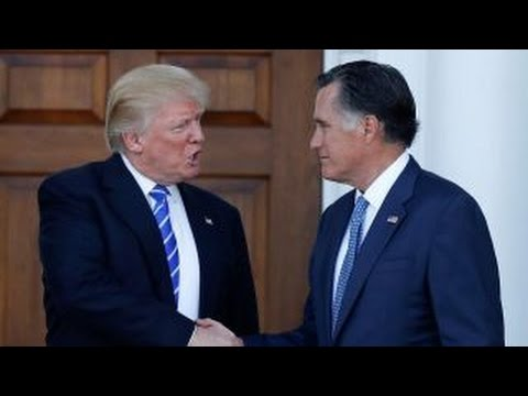 Could Trump, Romney be a good team on national security?