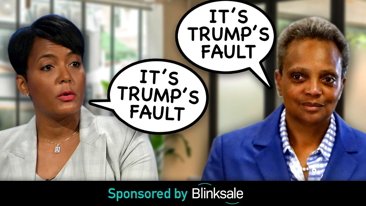 WATCH: Democrat Mayors REFUSE To Take Responsibility For Their Failures; Blame Trump Instead