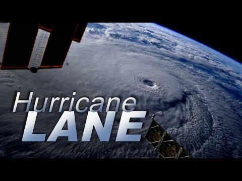 Dangerous Hurricane Lane approaches Hawaii
