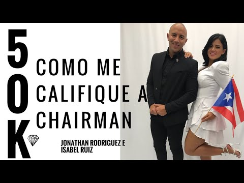 Como Calificar A Chairman En Herbalife | Jonathan Rodriguez E Isabel Ruiz