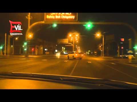 crazy public highway Arab drifting