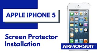 Apple iPhone 5 Screen Protector Installation Instructions by ArmorSuit MilitaryShield