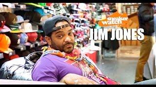 Jim Jones Reveals He Has Thousands of Sneakers But Cam Has More