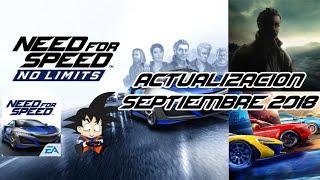 Need For Speed No Limits Android Actualización Septiembre 2018