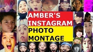 f(x) Amber Liu Instagram photo montage