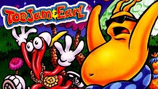 THE BEST DYNAMIC DUO IN GAMING HISTORY! - [Toe Jam & Earl in Panic on Funkatron - RETRO GAMING]