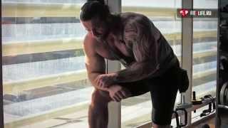 Тяга т грифа. Широчайшие мышцы спины.(Тяга т-образного грифа в наклоне – это многосуставное базовое упражнение, предназначенное для акцентирова..., 2015-04-17T13:00:27.000Z)