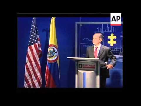 US Attorney Gen comments on extradition talks