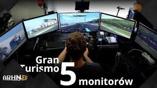 Bonus: Gran Turismo 5 (PS3) na 5 ekranach