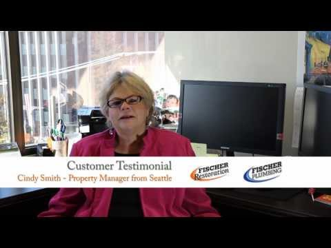 Plumbing testimonial: Property manager Cindy Smith talks about Fischer