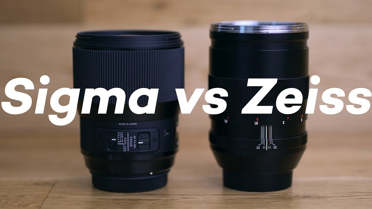 Sigma 135mm f1 8 Art vs Zeiss 135mm f2 in depth review