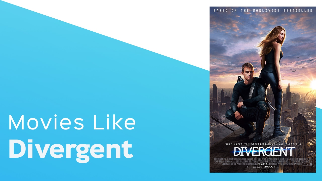 Download 4 Movies like Divergent - itcher playlist