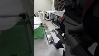 레이저 용접기 실제 작업 (2.5m연속용접)