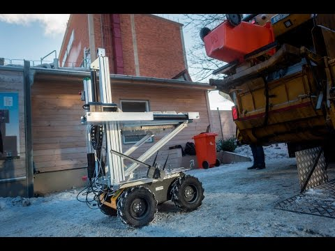 The ROAR project - robot and drone in collaboration for autonomous refuse handling