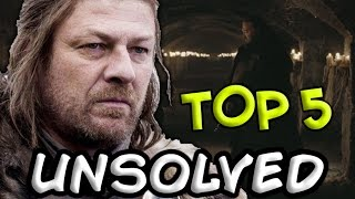 The Biggest Unsolved Mysteries That Must Be Addressed In Season 7 (Game of Thrones)
