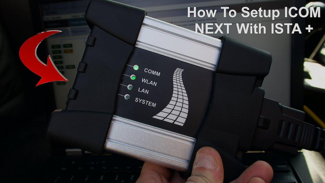 How To Setup BMW ICOM NEXT With ISTA+ , INPA , E SYSTEM