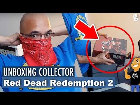 UNBOXING de l'INCROYABLE COLLECTOR de RED DEAD REDEMPTION 2 !